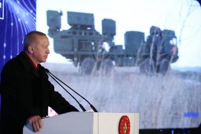Erdogan: Η Τουρκία έφτασε στο διάστημα 4 φορές χάρη στην εθνική μας τεχνολογία