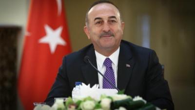 Στα κατεχόμενα ο Cavusoglu (Τούρκος ΥΠΕΞ) - Συνάντηση με Akinci