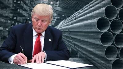 ΗΠΑ: Ο Trump επέβαλε ξανά δασμούς στα εισαγόμενα προϊόντα αλουμινίου από τον Καναδά