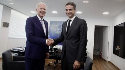 Το φθινόπωρο του 2021 η επίσκεψη Μητσοτάκη στις ΗΠΑ   - O διάλογος με Biden στις 25 Μαρτίου