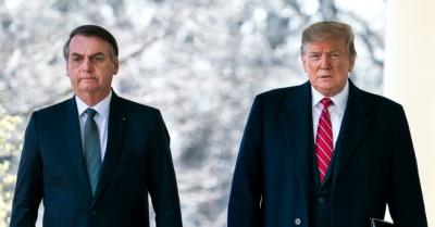 Bolsonaro: Περιμένοντας το τηλεφώνημα του Trump - Ακόμα αναμένεται η αμερικανική βοήθεια για τον Αμαζόνιο