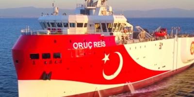 Η Τουρκία βγάζει το σεισμογραφικό Oruc Reis για έρευνες σε θαλάσσιες περιοχές βόρεια της Κύπρου