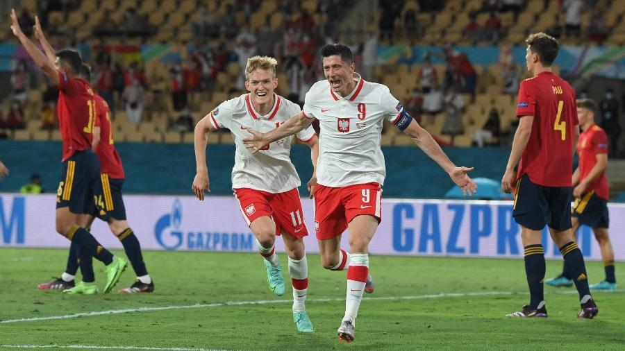 Ισπανία - Πολωνία 1-1: Κυρίαρχος στον αέρα ο Λεβαντόφσκι! (video)