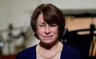 ΗΠΑ: Η γερουσιαστής των Δημοκρατικών  Amy Klobuchar στην κούρσα για το προεδρικό χρίσμα των εκλογών του 2020