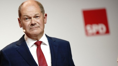 Scholz (ΥΠΟΙΚ Γερμανίας): Υιοθετούμε τη θέση των κεντρικών τραπεζών για συγκυριακές πληθωριστικές πιέσεις
