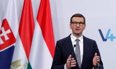 Morawiecki (Πολωνία): Δεν υποκύπτουμε στους εκβιασμούς της ΕΕ – Οι συνθήκες δεν προβλέπουν διευρυμένες αρμοδιότητες για την Commission