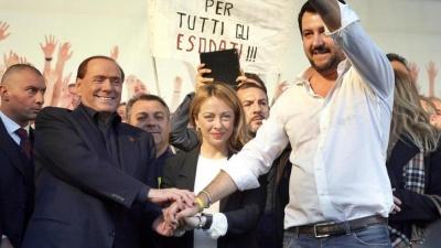 Ιταλικές εκλογές - Πλειοψηφία για τη Δεξιά των Berlusconi και Salvini 35% - Πρώτο το Κίνημα Πέντε Αστέρων  με 30,5%
