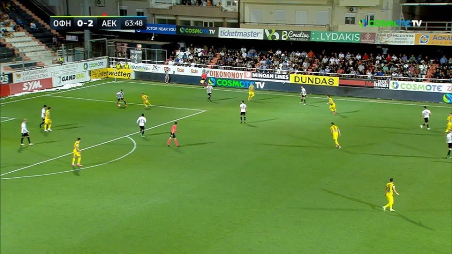ΟΦΗ – ΑΕΚ 0-3: Ο Ανσαριφάρντ βάζει το κερασάκι στην τούρτα! (video)
