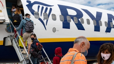 Καλοκαιρινές πτήσεις της Ryanair από το Μπέργκαμο σε ελληνικούς προορισμούς