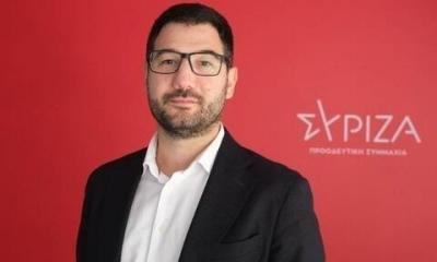 Ηλιόπουλος (ΣΥΡΙΖΑ): Όμηρος του Σαμαρά ο Μητσοτάκης