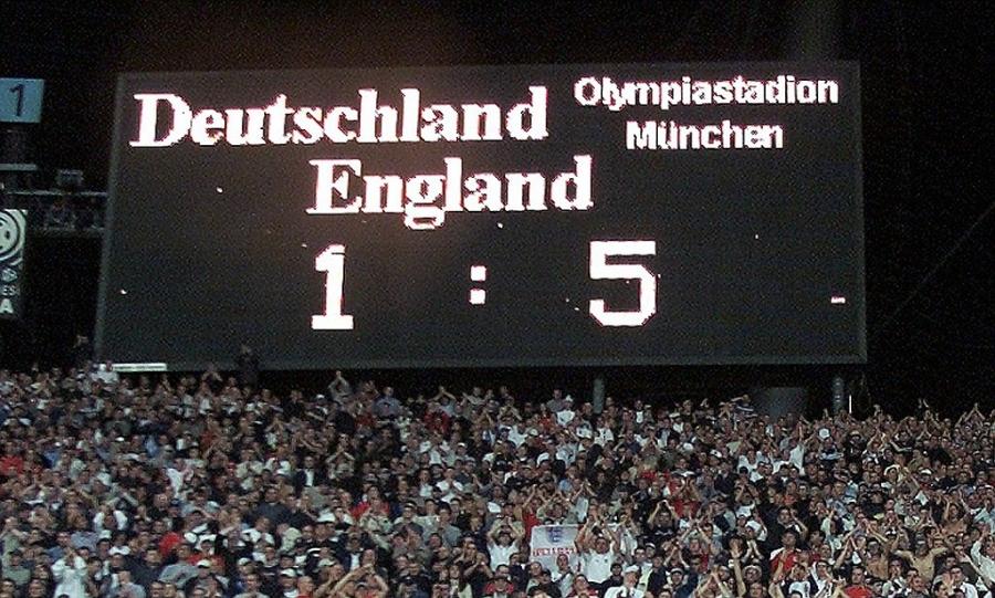 Ο διασυρμός των Γερμανών με την αξέχαστη 5άρα από την Αγγλία