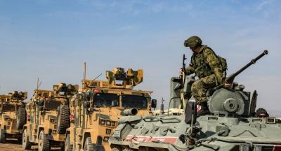 Κούρδοι πετροβόλησαν ρωσοτουρκική περίπολο - Ένας διαδηλωτής παρασύρθηκε και σκοτώθηκε από θωρακισμένο όχημα