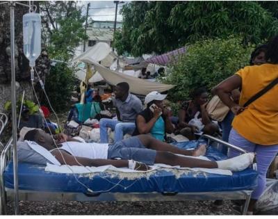 Αϊτή: Στους 1.941 ανήλθε ο απολογισμός από τον σεισμό