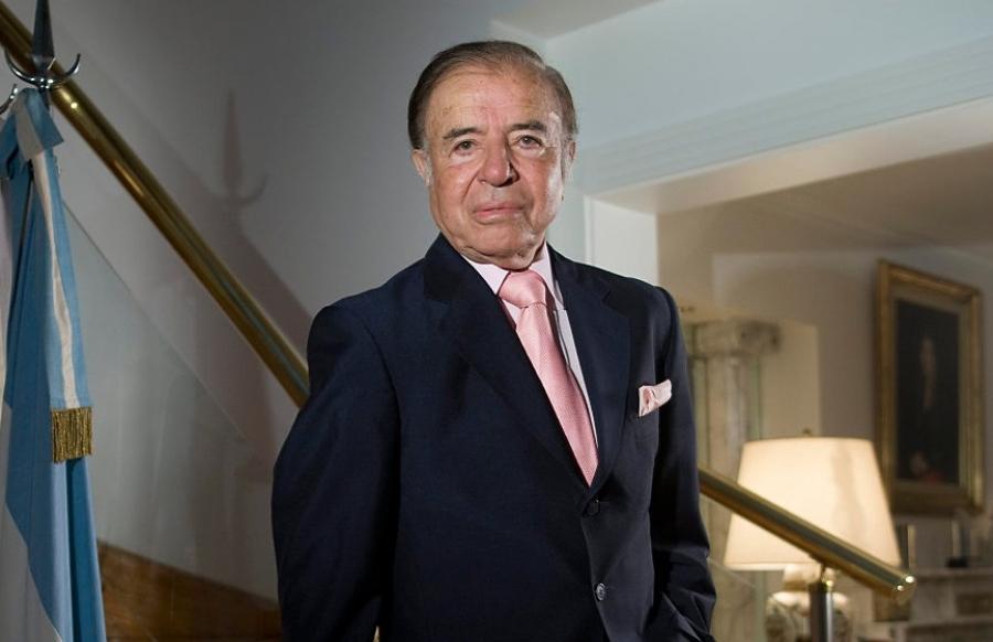 Απεβίωσε ο πρώην πρόεδρος της Αργεντινής, Carlos Menem
