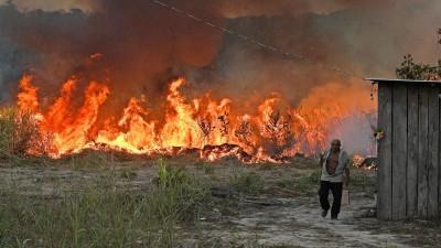 Στο έλεος καταστροφικών πυρκαγιών ξανά ο Αμαζόνιος