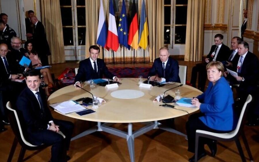 Ουκρανία: Συμφωνία Putin - Zelensky για κατάπαυση πυρός έως 31/12/2019 - Νέα σύνοδος σε 4 μήνες