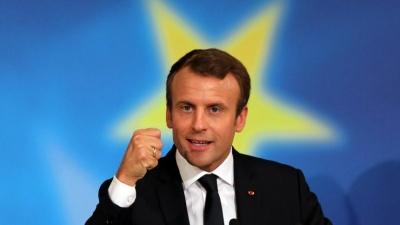 Macron: Κάλεσε τη Βρετανία να μη γίνει «αθέμιτος ανταγωνιστής» της ΕΕ