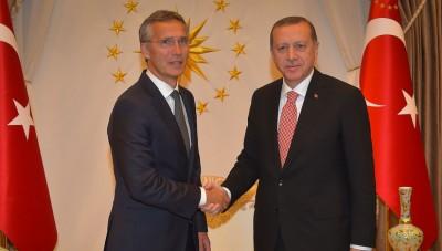 Τηλεφωνική επικοινωνία Stoltenberg με Erdogan – Υπέρ του διαλόγου η Τουρκία