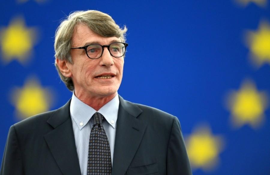 Sassoli (Ευρωπαϊκό Κοινοβούλιο): Απαράδεκτες οι επιθέσεις Erdogan στον Macron