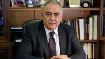Νέος πρόεδρος της Κεντρικής Ένωσης Επιμελητηρίων Ελλάδος ο Γ. Χατζηθεοδοσίου - Στη θέση του Κωνσταντίνου Μίχαλου