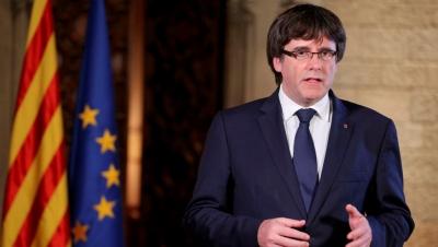 Puigdemont μετά την άρση ασυλίας από το Ευρωπαϊκό Κοινοβούλιο: Καταφανής περίπτωση πολιτικής δίωξης