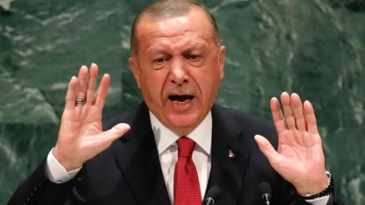 Νέο παραλήρημα από Erdogan: Για εμάς η Τουρκία είναι παντού, δεν είναι μόνο 780.000 τετραγωνικά χιλιόμετρα