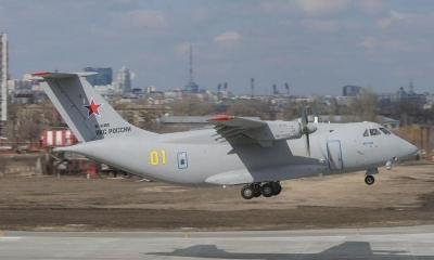 Ρωσικό μεταγωγικό αεροσκάφος συνετρίβη στην πόλη Χαμπάροφσκ, στα σύνορα με Κίνα