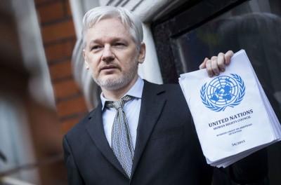 ΟΗΕ: Επιστολή στον Donald Trump για να δοθεί χάρη στον Assange (WikiLeaks)