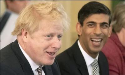 Βρετανία: Υπό περιορισμό οι Boris Johnson και Rishi Sunak (ΥΠΟΙΚ) - Ήρθαν σε επαφή με κρούσμα