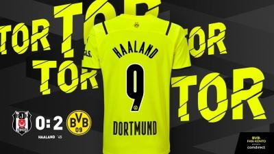 Μπεσίκτας - Ντόρτμουντ 0-2: Ο Χάαλαντ τελειώνει το ματς στο «Vodafone Arena» (video)
