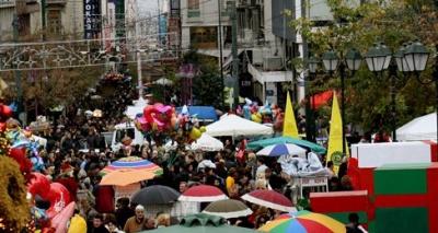 Σε εορταστικούς ρυθμούς η αγορά - Το ωράριο των καταστημάτων
