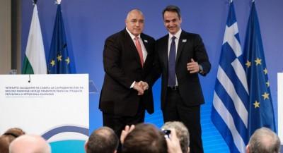 Συμφωνία για το φυσικό αέριο Αλεξανδρούπολης - Μητσοτάκης: Ιστορικής σημασίας έργο - Borisov: Κεντρικός ρόλος Ελλάδας και Βουλγαρίας στην ενέργεια