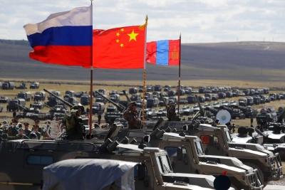 Μεγάλης κλίμακας στρατιωτική άσκηση από Ρωσία και Κίνα