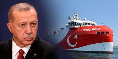 Αποκλιμάκωση της ελληνοτουρκικής έντασης - Υποχωρεί ο Erdogan, παγώνει το Oruc Reis για ένα μήνα, θέλει διάλογο για ΑΟΖ και αμφιλεγόμενες περιοχές