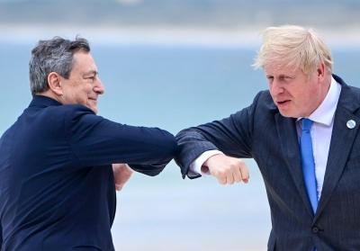 Johnson προς Draghi: Έσωσες το ευρώ με μία φράση όταν ήσουν στην ΕΚΤ, τώρα τι θα κάνουμε;