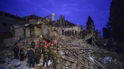 AFP: Πυραυλική επίθεση κατά της πόλης Γκαντσά στο Αζερμπαϊτζάν με 12 νεκρούς και πάνω από 40 τραυματίες