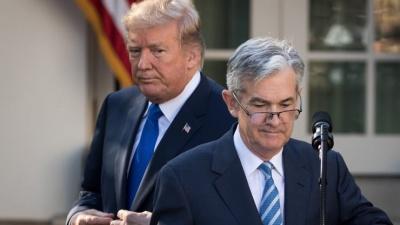 Powell (Fed): Αποκλείει κάθε περίπτωση για αρνητικά επιτόκια