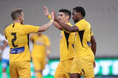 AEK – Απόλλων Λεμεσού 3-0: Φιλικό «ξεμούδιασμα» με το βλέμμα στο... Conference League (video)