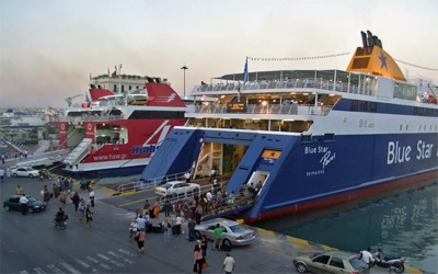 Μείωση 2,5% στη διακίνηση επιβατών για τα ελληνικά λιμάνια, το α' τρίμηνο 2019