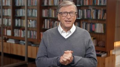 Bill Gates: Οι φτωχότερες χώρες θα καθυστερήσουν να έχουν πρόσβαση στα εμβόλια 6-8 μήνες