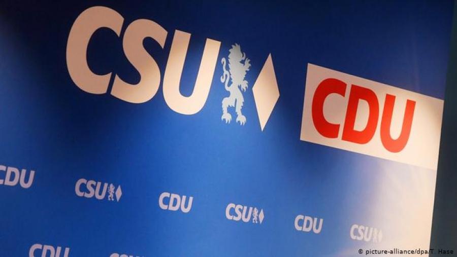 Γερμανία: Πρώτη δύναμη ο συνασπισμός CDU/CSU σε νέα δημοσκόπηση