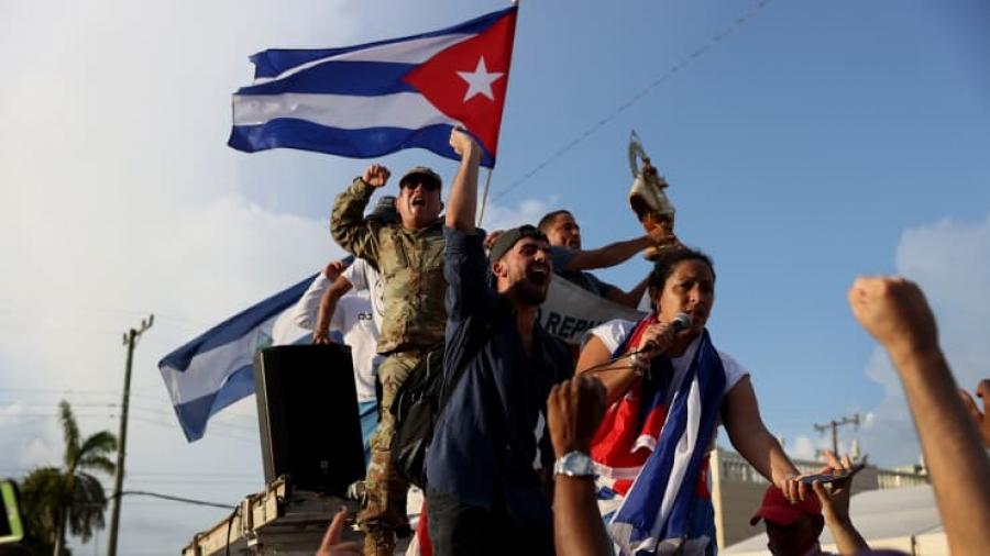 ΗΠΑ: Νέος γύρος κυρώσεων στις αστυνομικές αρχές της Κούβας για την καταστολή των διαδηλώσεων