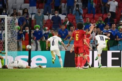 Βέλγιο – Ιταλία 0-1: Απίστευτο σόλο και σουτ από τον Μπαρέλα (video)