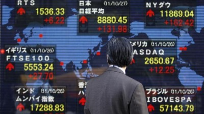 Μεικτά πρόσημα στις αγορές της Ασίας λόγω Wall και μάκρο - Στο +0,15% ο Nikkei, ο Shanghai Composite -0,42%