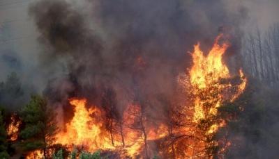 Εγκλωβισμένος στις φλόγες κάτοικος της Δροσοπηγής