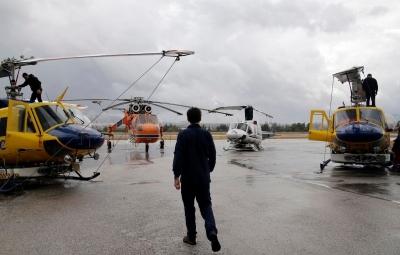 Mytilineos: Αναχώρησαν από την Ελλάδα τα τέσσερα ελικόπτερα που συμμετείχαν στην εθνική προσπάθεια πυρόσβεσης