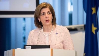 Στ. Κυριακίδου: Το 34% του ενήλικου πληθυσμού στην ΕΕ έχει ήδη λάβει μία δόση εμβολίου
