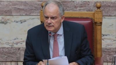 Τασούλας (Πρόεδρος Βουλής): Συλλυπητήρια για τον θάνατο του Θεόδωρου Κατσανέβα