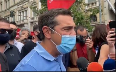 Τσίπρας: Ο κόσμος της εργασίας σύντομα θα δώσει ρεπό διαρκείας στον κ. Μητσοτάκη