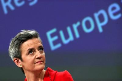 Vestager (Κομισιόν): Είναι πολύ νωρίς για να συζητήσουμε ένα δεύτερο πακέτο μέτρων τόνωσης στην ΕΕ